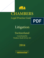Chambers Legal Practice Guides Litigation Switzerland
