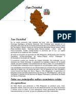 Estudio Sobre El Desarrollo Económico de San Cristóbal