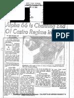 Alpha 66 News Paper