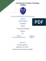 El PIB Como Ha Evolucionado en El Gobierno de Danilo Medina
