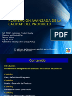 APQP Modulo 1 Core Tools 7a. Revisiòn de 17082016