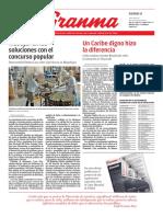 Diario Granma. 8 de junio de 2018.