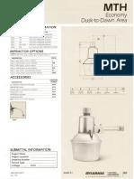 Sylvania MTH Economy Dusk-To-Dawn Area Spec Sheet 5-80