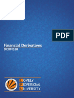 Dcom510 Financial Derivatives