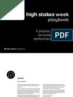 High Stakes Week Playbook 5pilares