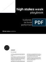 High Stakes Week Playbook 5pilares