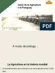 Historia de La Agricultura Mecanizada en El Paraguay