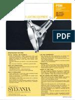 Sylvania PSM HID Floodlight Spec Sheet 10-68