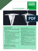 Sylvania PT Pathfinder INC & HID Post Top Spec Sheet 10-68