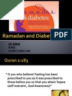 Ramadan & Diabetes