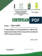Certificado Textil
