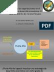 Presentacion Jueves 31-05. El Rol de Las Organizaciones en El Proceso de Desarrollo Economico El Caso Del Distrito de Coronel Rosales