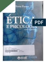 Livro Etica e Psicologia Teoria e Pratica de Elizete Passos