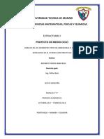 Proyecto Estructuras I Medio Ciclo UTM