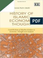 History of Islamic Economic Tho - Abdul a. Islahi