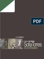 Catálogo da 17.ª Exposição da Galeria d'Arte Ortopóvoa - Do Estranho de Sofia Torres
