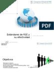 RSE - Estándares de RSE y su Efectividad