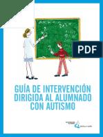Guia de Intervencion Dirigida Al Alumnado Con Autismo