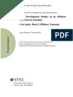 Field Development Studies Offshore Tanzania Nyorobi