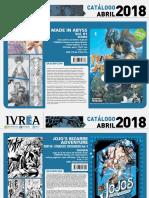 Novedades Ivrea Abril 2018