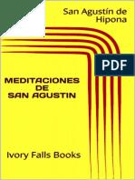 Meditaciones de San Agustín - San Agustín de Hipona