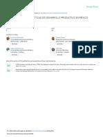 El Panorama de Las Políticas de Desarrollo Productivo en México (2018)