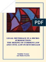 The Mixing of Common Law in Seychelles
