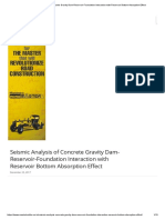 Seismic Analysis of Concrete Gravity Dam-Reservoir-Foundation Interaction with Reservoir Bottom Absorption Effect.pdf