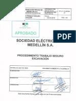 P1-LT-10-XP004_V7 Procedimiento Trabajo Seguro Excavación FIRMAS AUTORIZADAS (1)