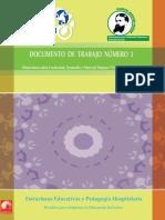 Doc. 1.Estructuras Educativas y Pedagogía Hospitalaria