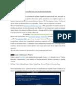 COMO Ejecutar Kali Linux Como Un Subsistema de Windows
