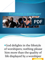 Becoming a Worshipper