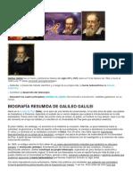 1galileo Galilei Letre