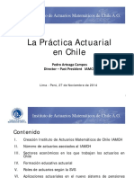 Práctica Actuarial Chile