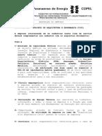 900401001 - Projeto de Arquitetura e Engenharia Civil