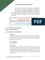 2. Especificaciones Tecnicas Agua Pueblos