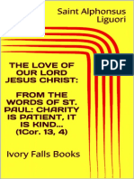 The Love of Our Lord Jesus Christ