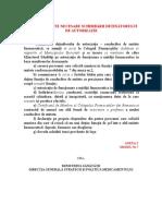 Documente-Detinator de Autorizatie-conducator de Unitate