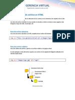 Path o Ruta de Archivos en HTML