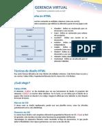 Diseño en HTML
