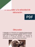 5-Obturador y Velocidadde Obturacion