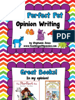 The Perfect Pet Opinion Writing