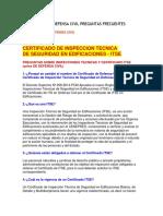 Certificado de Defensa Civil Preguntas Frecuentes