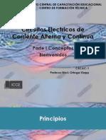 Circuitos Electricos de Corriente Alterna y Continua Parte 1