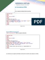 Tipos de Inputs en HTML