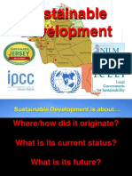 History of Sustainable Development Condensed 1 - 25