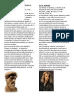 30 Biografia de Genios Matematicos