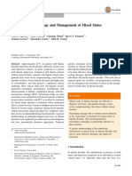 Diagnosis, Epidemiology and Management of Mixed States in Bipolar Disorder