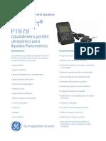 GE PT878 Spanish Datasheet