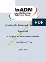 Integracion y Redaccion Del Informe Final